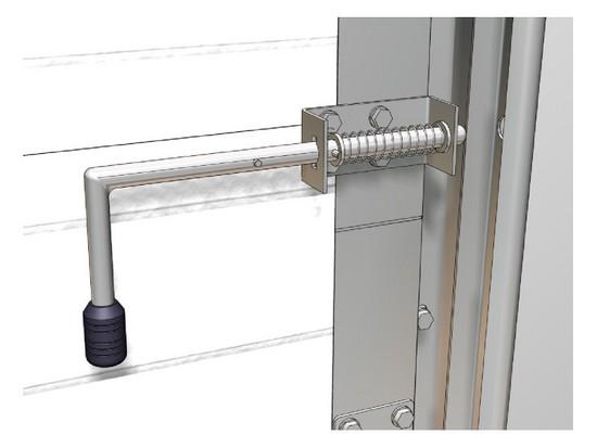 Устройство автоматическим приводом ворот